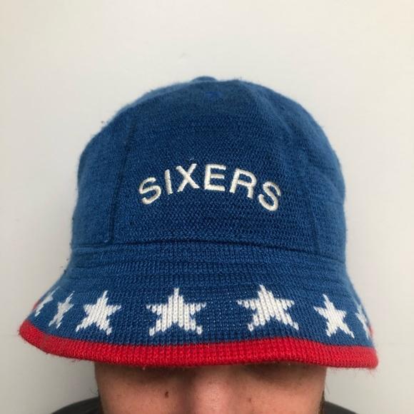 NIKE NBA Rewind Knit Bucket Hat - Sixers